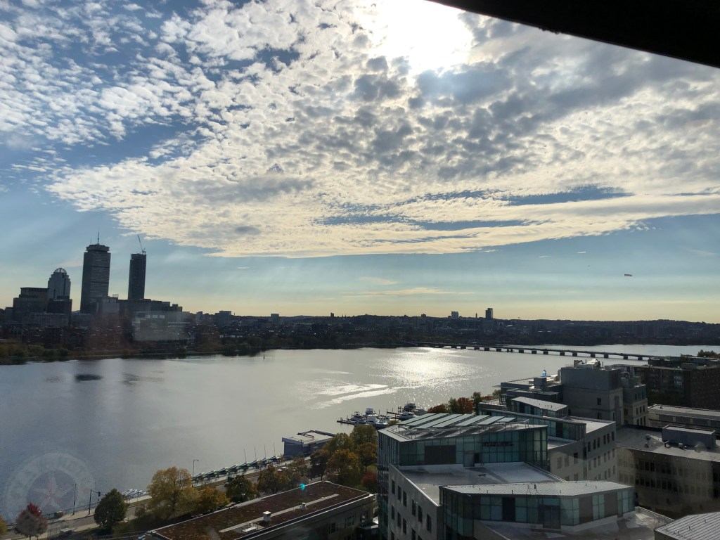 The Charles River from InsideTracker office where we worked for the afternoon