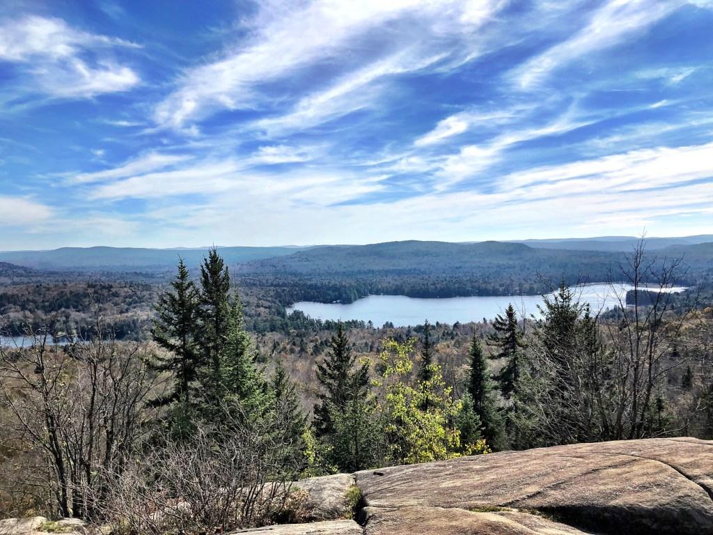 Fall hiking in Adirondacks