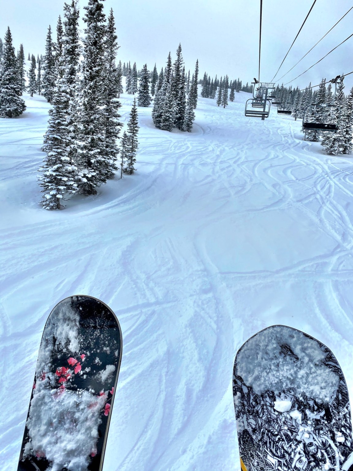 Snowboarding at Aspen Snowmass