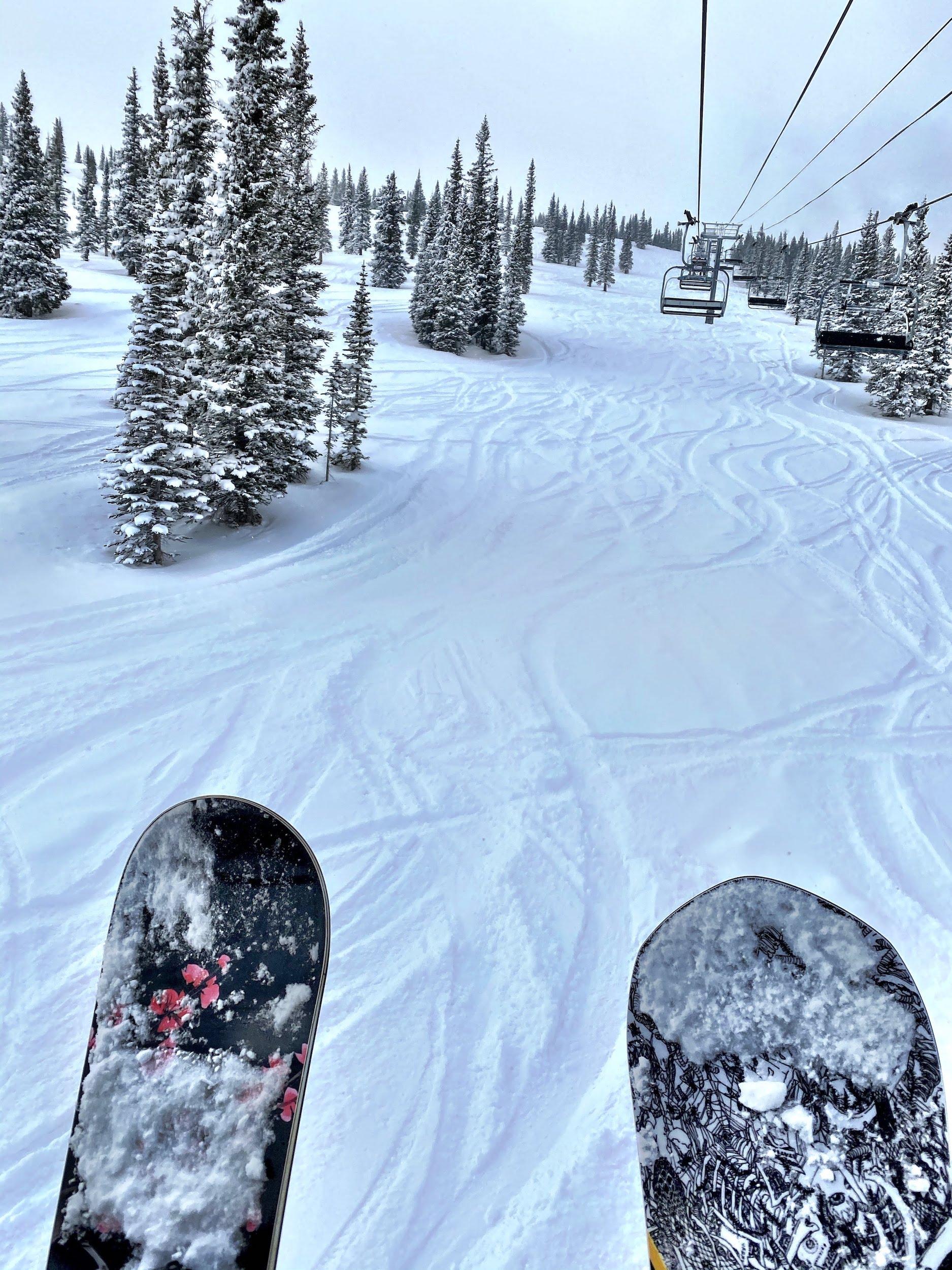Snowboarding at Aspen Snowmass