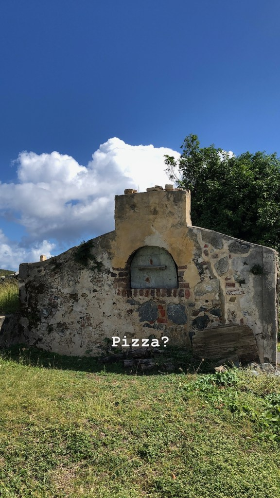 Sugar Mill Pizza Oven? on US Virgin Islands National Park