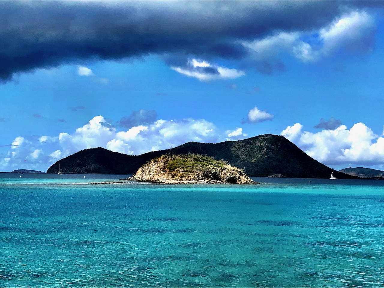 Waterlemon Cay on St John in the US Virgin Islands National Park