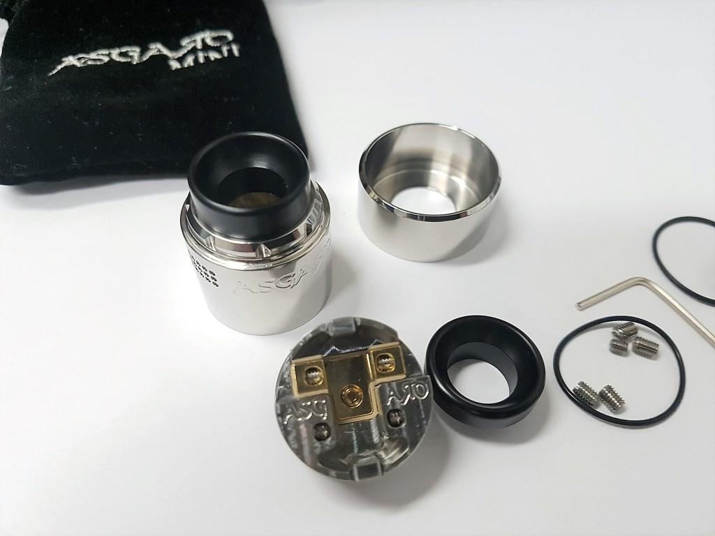 Vaperz Cloud – Asgard Mini RDA Review | The Vape Review