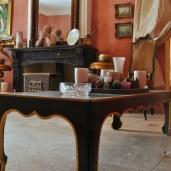 villa rental living room