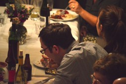 Thanksgiving Family Photo in La Jolla