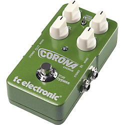 TC Electronic Corona Chorus TonePrint Series Guitar Effects Pedal Standard