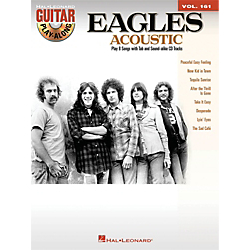 Hal Leonard Eagles Acoustic Guitar Play-Along Volume 161 (Book/CD) Standard