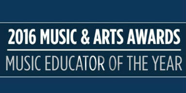 2016 Music Educator of the Year Award
