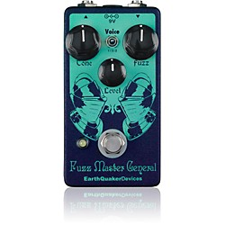 EarthQuaker Devices Fuzz Master General Guitar Effects Pedal Standard