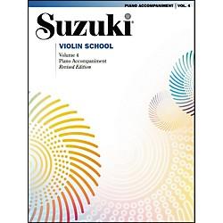 Suzuki Suzuki Violin School Piano Acc. Volume 4 Standard