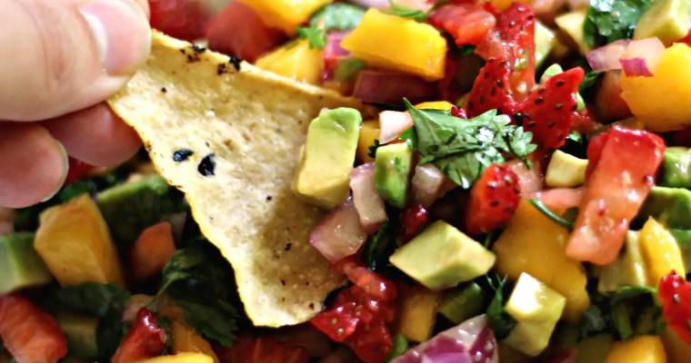 fruity summer salsa
