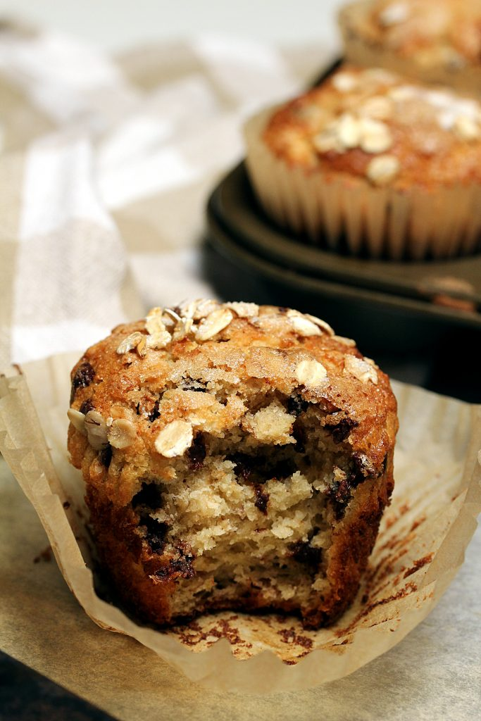 Banana Oat Muffins Vegan Gluten-Free