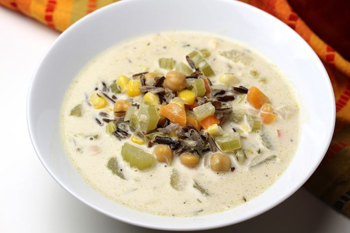 photograph of a bowl of creamy dreamy