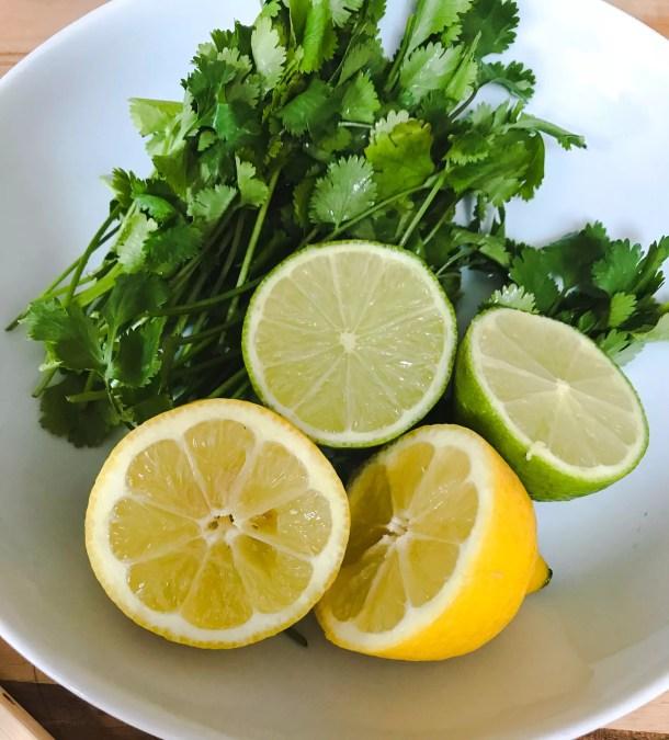 Lemon Lime Coriander