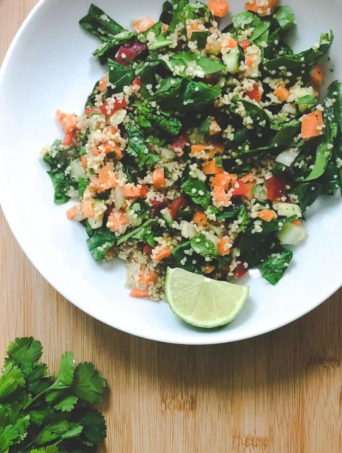 Vegan Couscous Salad