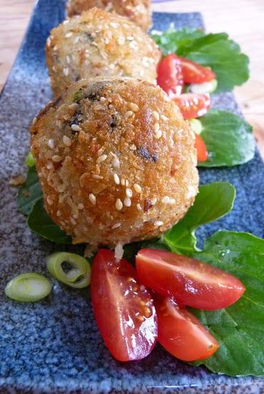 Arancini. Crunchy, Creamy Risotto Balls.