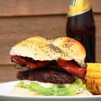 The Ultimate Vegan BBQ Burger