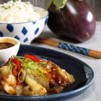 Vietnamese Style Aubergine - Veganised!
