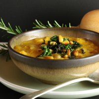 Soothing Butternut Squash and White Bean Soup