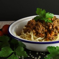 Basic but Brilliant Lentil Bolognese