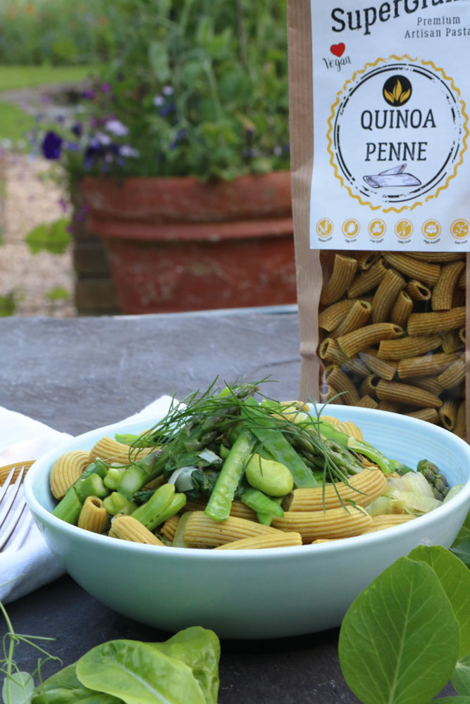 Summer Green Pasta with Nomad Health