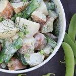 Potato & Pea Salad