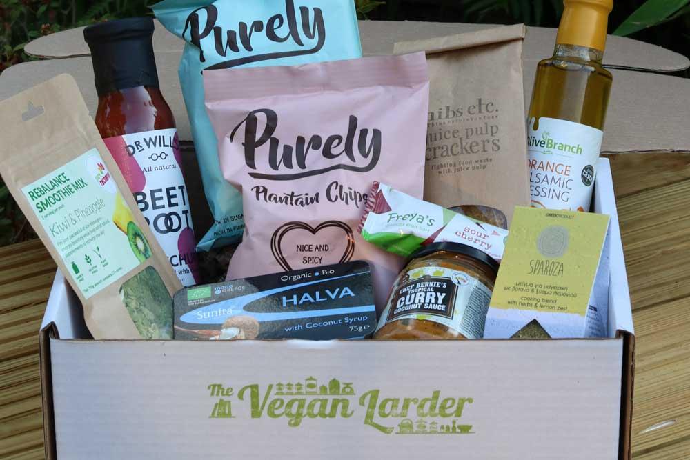 The Vegan Larder July Box