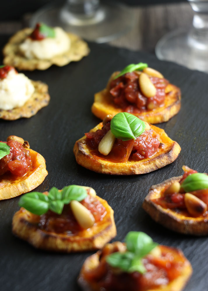 Easy Vegan Party Canape Ideas