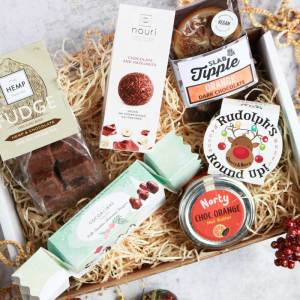 Christmas Vegan Chocolate Gift Box