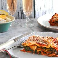 Smokey Vegan Mushroom & Kale Lasagne
