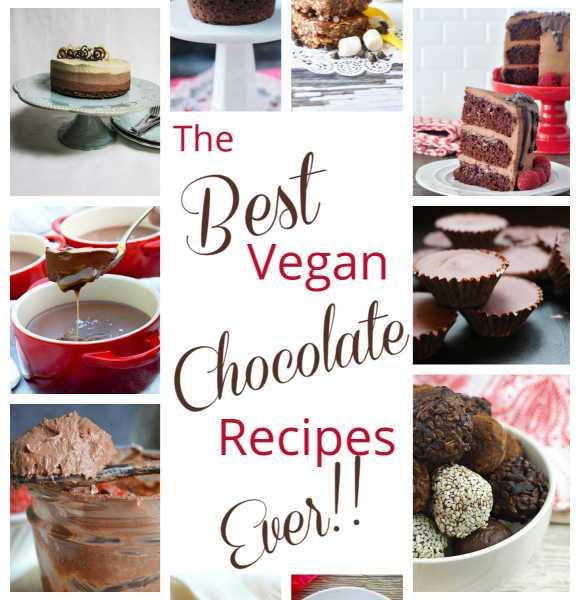 Best Vegan Choc Recipes montage