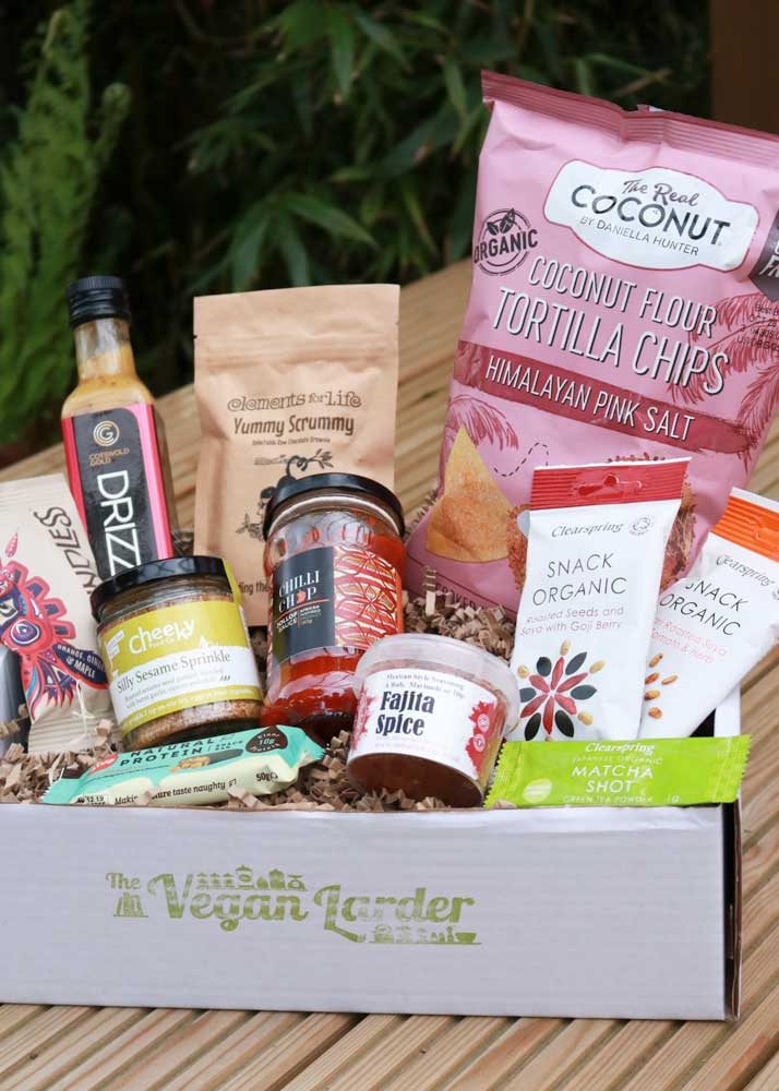 What's in The Vegan Larder Deluxe May Box (our Special One Year Birthday Month)?!