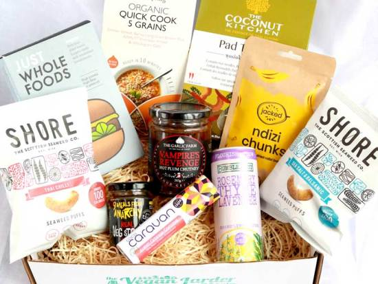 The Vegan Larder October 2019 Subscription box