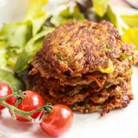 Bottom of the Fridge Vegan Vegetable Fritters.