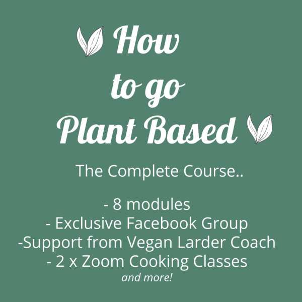 Image for how to go plant based class