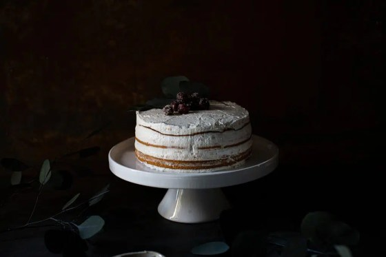 Almond Bliss Vego White vegane Torte
