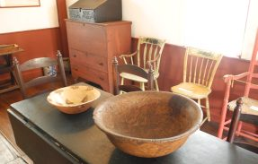 The Fruitlands Kitchen table