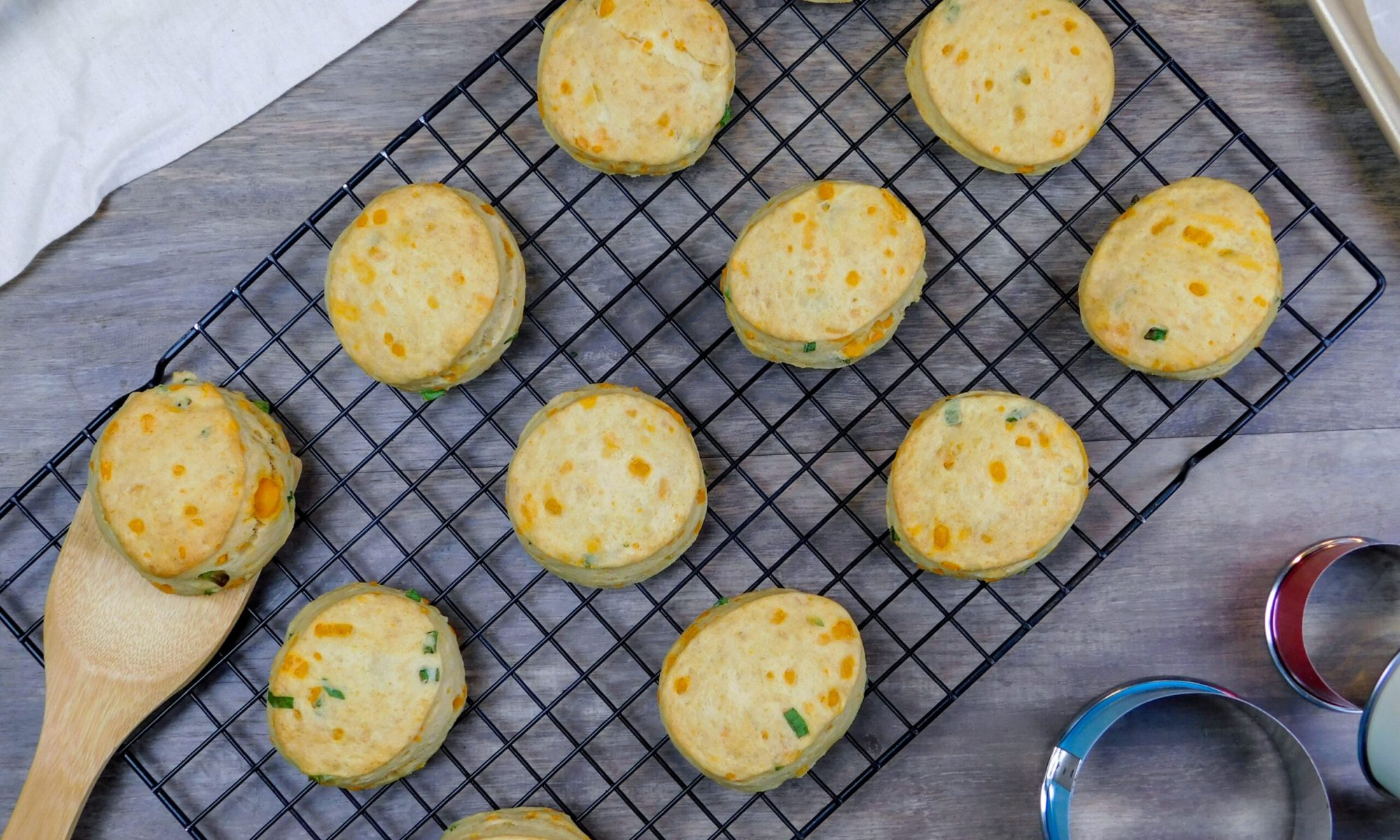 Easy Cheesy Biscuits