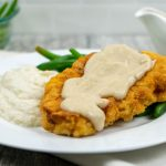 Country Fried Cauliflower Steaks - The Vegan Rhino
