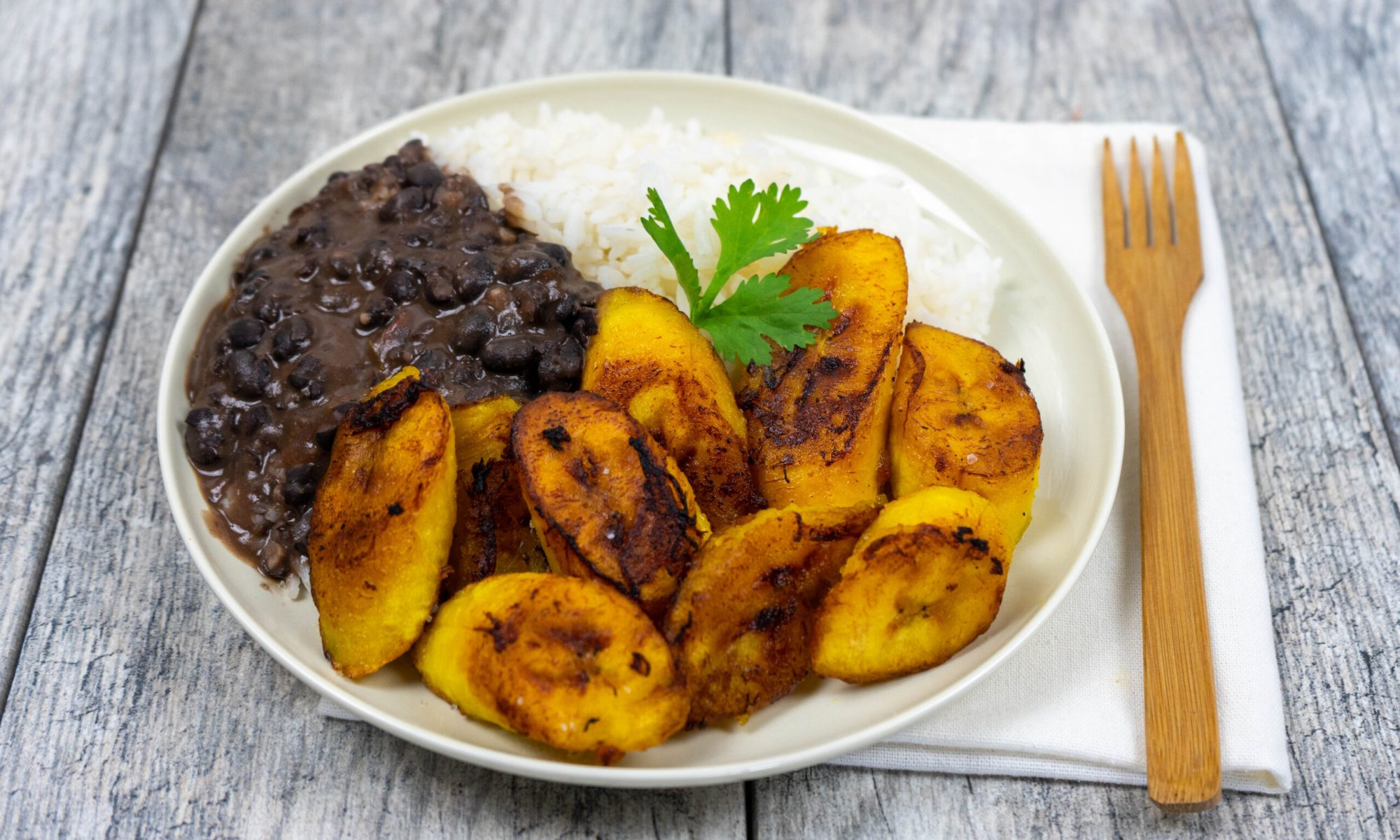Maduros-Fried Sweet Plantain -