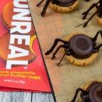 Spooky Spider Peanut Butter Cookies - The Vegan Rhino