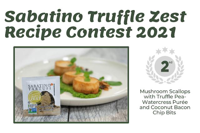 Sabatino Truffle Zest Recipe Contest 2021 - The Vegan Rhino