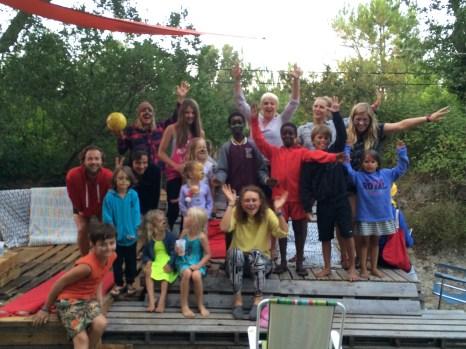 Kids night Vegan Surf Camp