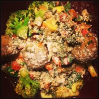 VeggiePatch Falafel with Peppers Recipe