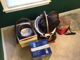 Decorative Items Given to GoodWill