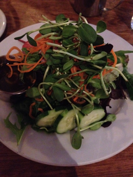 Salad at Adam's Mountain Cafe in Manitou Springs
