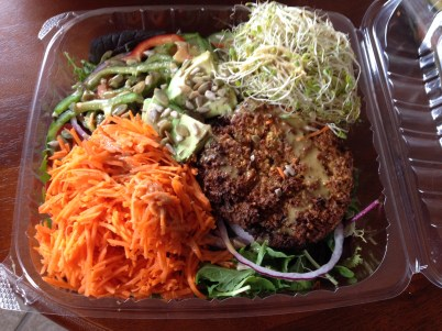 Fully-loaded salad from Mountain Mama