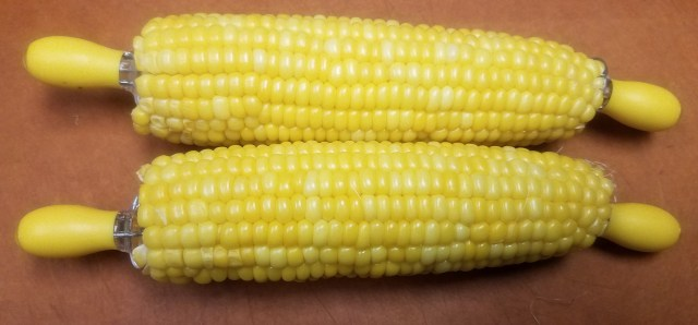 corn with holders