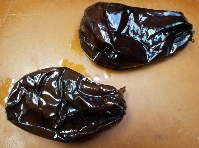 Cropped Eggplant