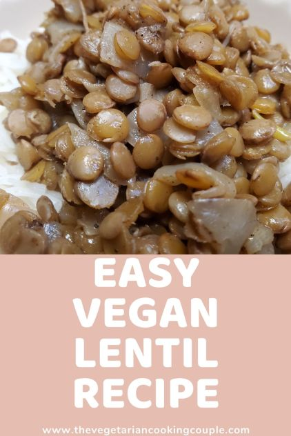 Easy Vegan Lentil Recipe Canva